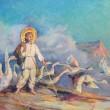 Вперше в Чернігові виставка картин «Основи», присвячена Григорію Сковороді